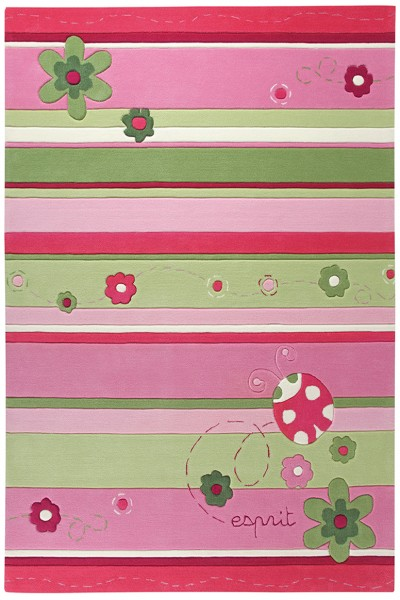Teppich Esprit Ladybird ESP-2982-01 rosa
