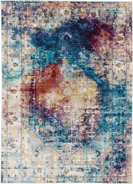Kurzflor Designer Teppich Astra Siena 184 020 multicolor
