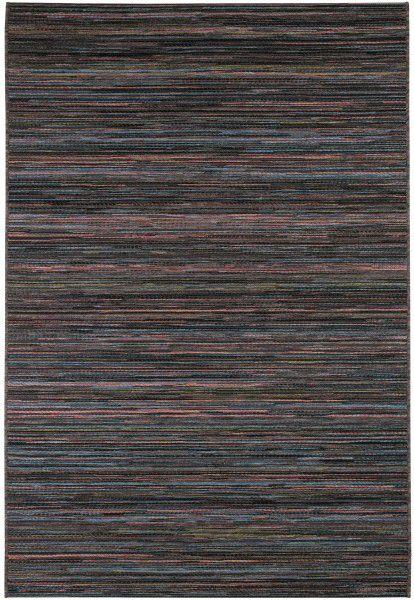 Indoor / Outdoor Teppich Ragolle Brighton 0122 3001-99 schwarz blau rosa