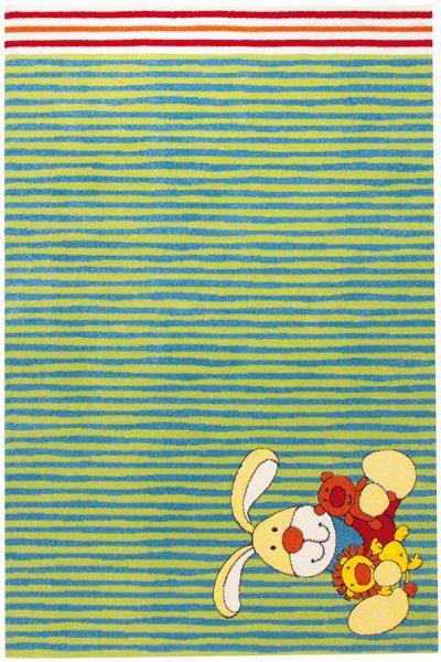 Teppich Sigikid Semmel Bunny SK-0527-02 grün