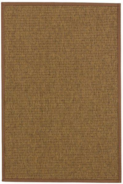 Indoor / Outdoor Teppich Astra Sylt 6530 807 060 ocker / braun