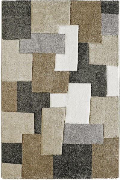 Kurzflor Designer Teppich Obsession Acapulco 683 taupe