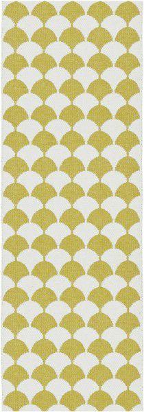 Indoor / Outdoor Teppich Brita Sweden Gerda mustard / gelb (Läufer)