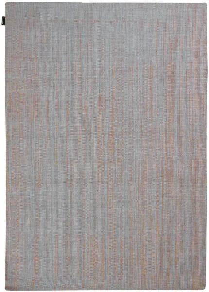 Kurzflor Designer Teppich Angelo Hamilton 5908-114 hellgrau orange