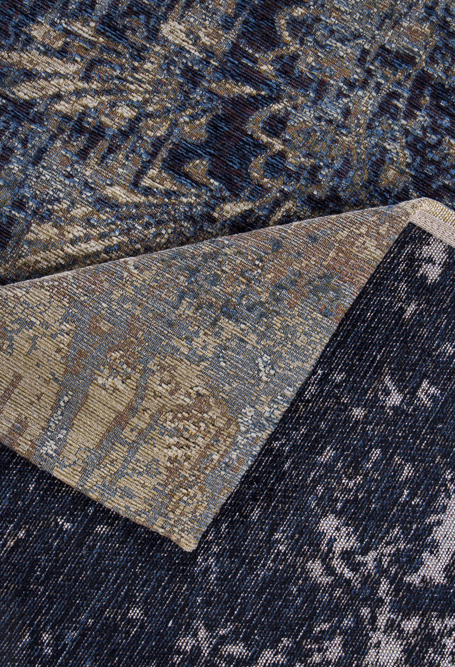 teppich luxor living antique beige blau raum quadrat fashion your room der onlineshop f r. Black Bedroom Furniture Sets. Home Design Ideas