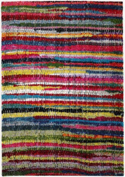 Hochflor Shaggy Teppich Super Line Splash Lines 598 multicolor