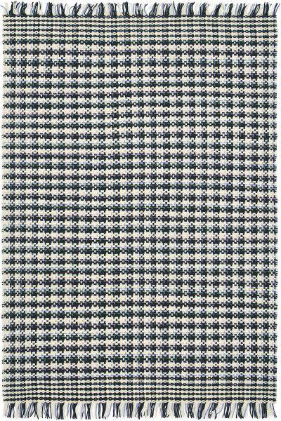 teppich brink campman atelier coco 49908 schwarz weiss blau raum quadrat fashion your room. Black Bedroom Furniture Sets. Home Design Ideas