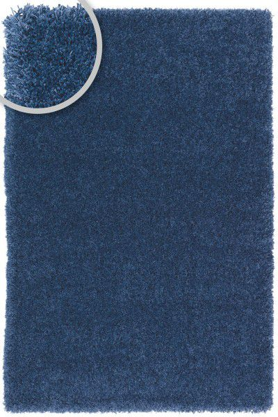 Hochflor Shaggy Teppich Astra Como 020 blau