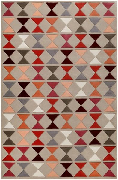 Kurzflor Designer Teppich Esprit Mahan ESP-4186-05 multicolor