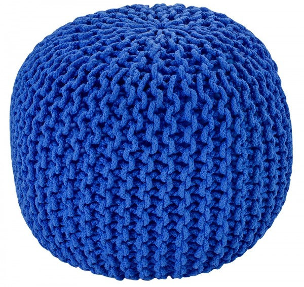 Sitzkissen / Hocker Obsession Cool Pouf 777 royal / blau