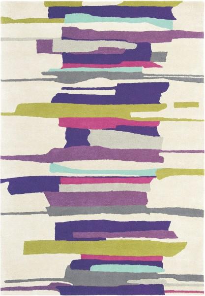 Kurzflor Designer Teppich Harlequin Zeal 43005 Berry multicolor