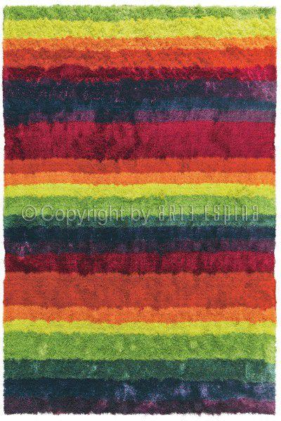Hochflor Shaggy Teppich Arte Espina Funky 8111-75 multicolor