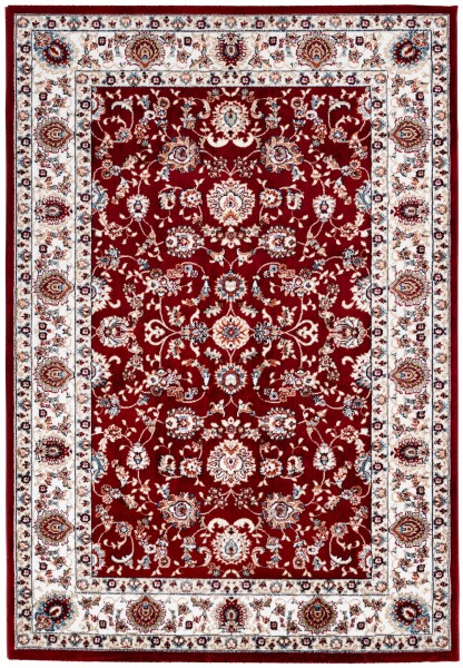 Kurzflor Designer Teppich Obsession Isfahan 741 rot