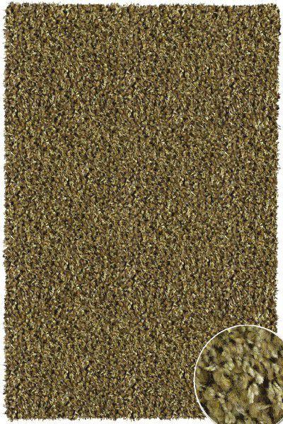 Hochflor Shaggy Teppich Twilight 4444 grün 240 x 340 cm