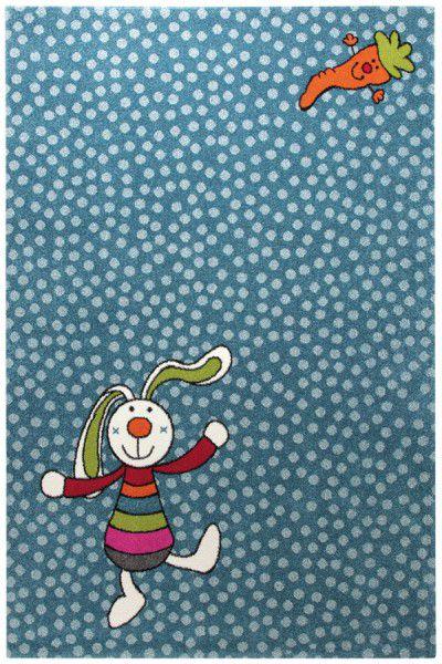 Teppich Sigikid Rainbow Rabbit SK-0523-01 blau