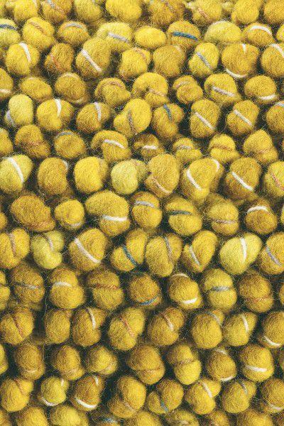 Kurzflor Designer Teppich Brink & Campman Cobble 29206 gelb