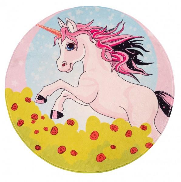 Kinder Teppich Obsession Juno 478 Unicorn multicolor