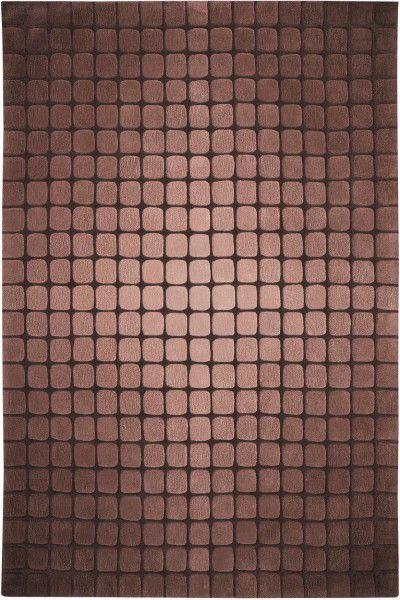 Kurzflor Designer Teppich Schöner Wohnen Shadow 6050 018 braun