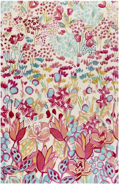 Kurzflor Designer Teppich Accessorize Splash Bouquet ACC-008-11 multicolor