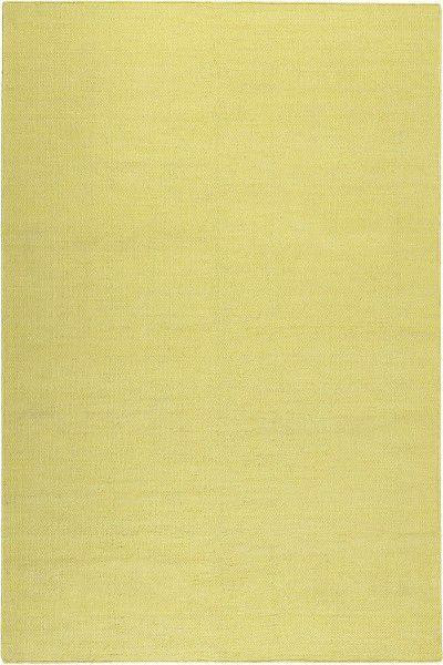 Kurzflor Designer Teppich Esprit Rainbow Kelim ESP-7708-01 gelb