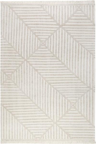 Teppich carpets&co Irregular Fields GO-0008-04 beige weiss