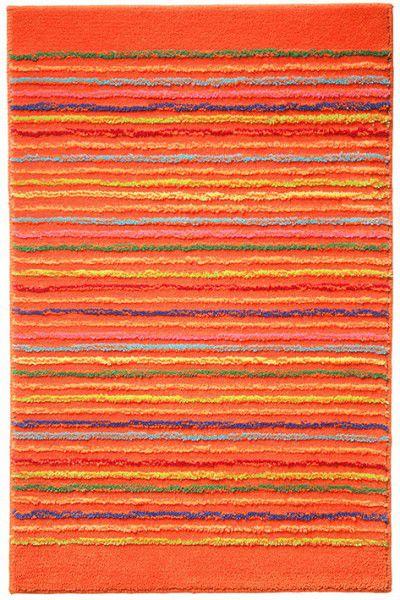 Badteppich Esprit Cool Stripes ESP-0232-01 orange