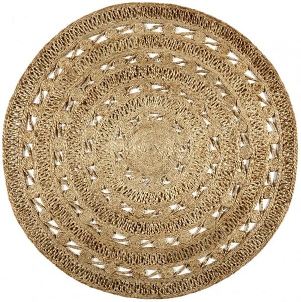 Teppich Esprit Crochet Nature ESP-6117-02 beige braun
