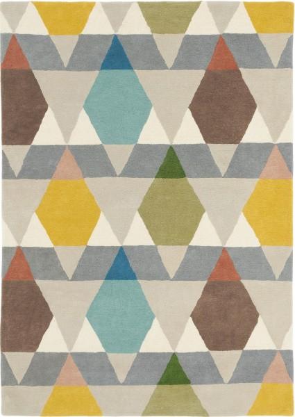 Kurzflor Designer Teppich Brink & Campman Estella Vases 089502 multicolor