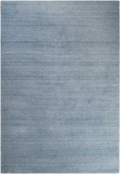 Hochflor Shaggy Teppich Esprit #loft ESP-4223-13 silber blau