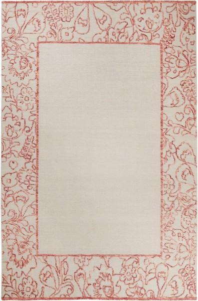 Teppich Esprit Kayla Kelim Border Esp 6116 01 Taupe Rot Orange