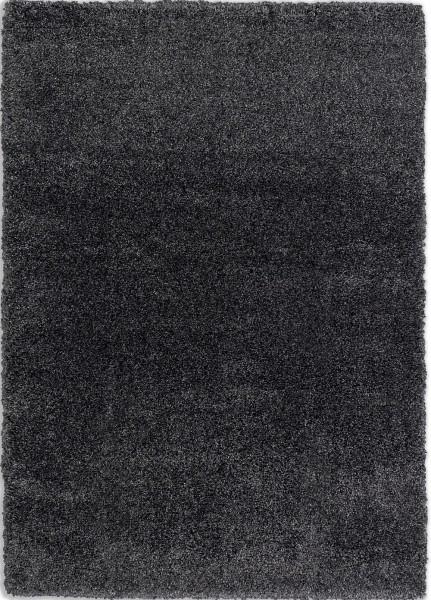 Hochflor Shaggy Teppich Schöner Wohnen Savage 6306 190 040 anthrazit