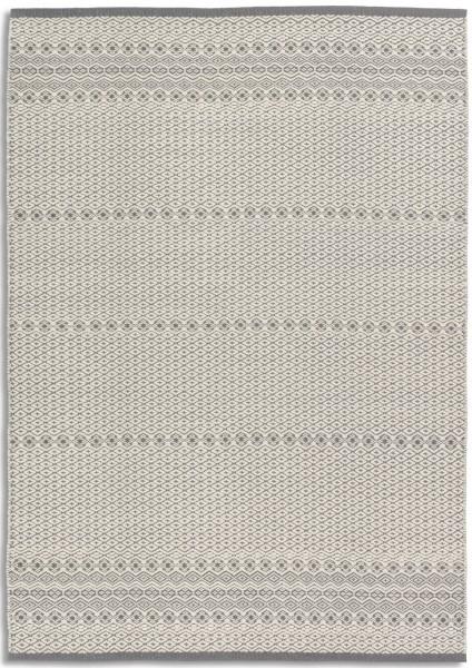 Kurzflor Designer Teppich Astra Claudia 6431 201 004 grau weiss