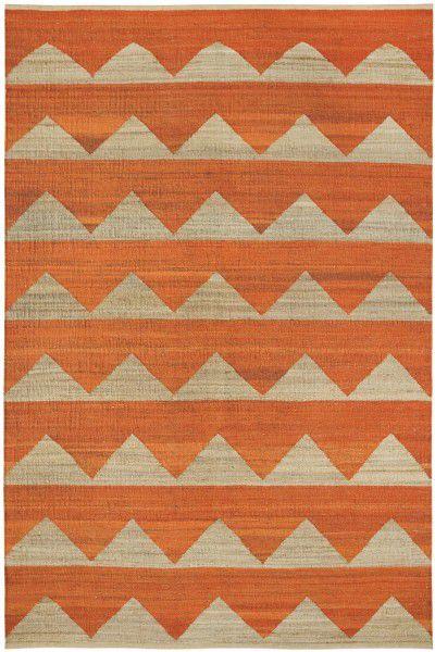 Teppich Brita Sweden Arctic brick / orange