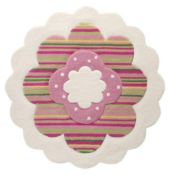 Kinder Teppich Esprit Flower Shape ESP-2840-09 beige