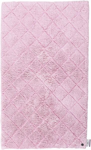 Badteppich Tom Tailor Cotton Pattern 250 Rose Rosa Raum Quadrat