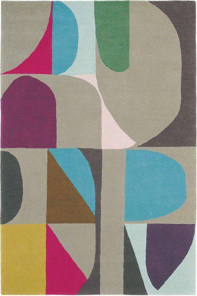 Kurzflor Designer Teppich Brink & Campman Estella Harmony 88605 multicolor