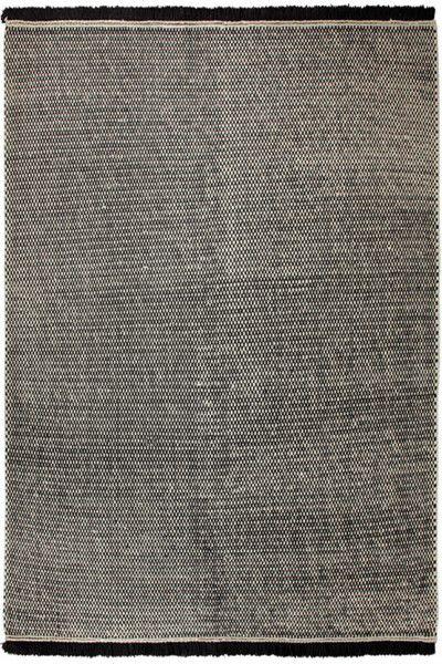 Kurzflor Designer Teppich Esprit Loom ESP-7018-05 schwarz