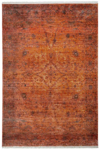 Teppich Obsession Laos 454 coral / rot