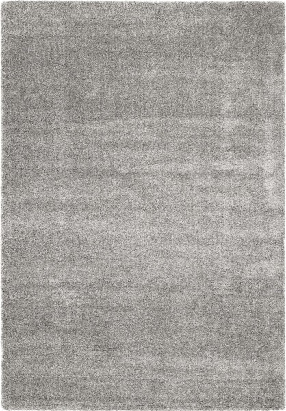 Hochflor Shaggy Teppich Super Line Tenderly 446 silber