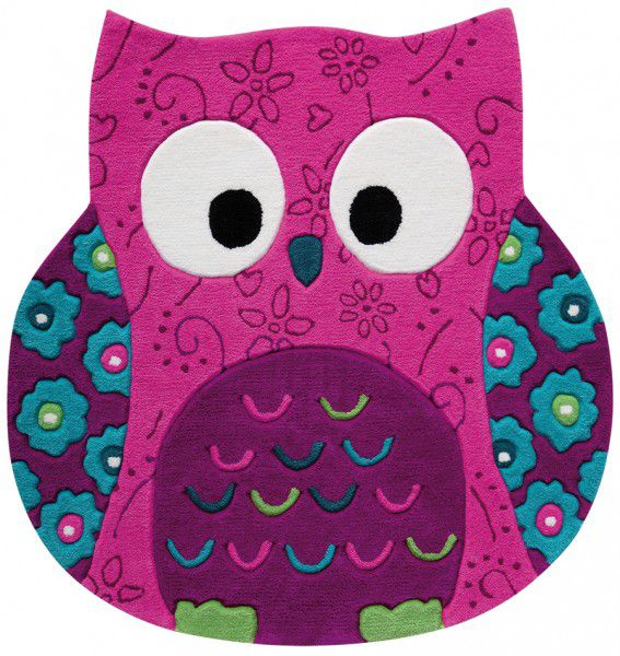 Teppich Smart Kids Little Owl SM-3659-04 pink