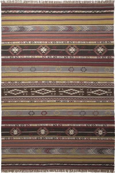 Kurzflor Designer Teppich Esprit Mahal ESP-7050-01 multicolor