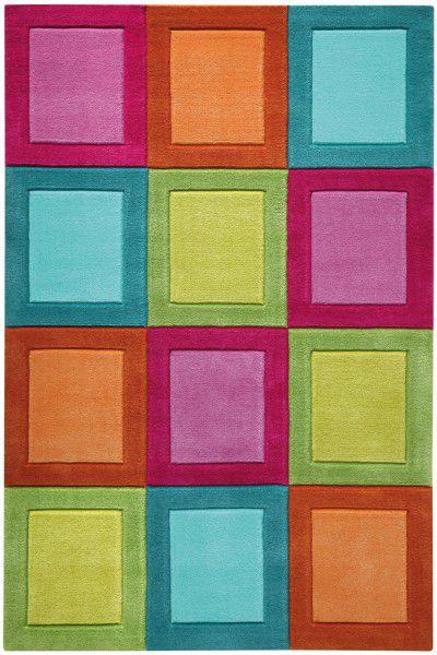 Kinder Teppich Smart Kids Smart Button SM-4025-01 multicolor