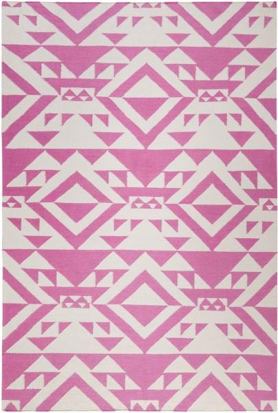 Kurzflor Designer Teppich Accessorize Pink Mellow ACC-004-11 pink weiss