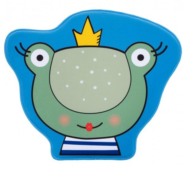 Kinder Teppich Obsession Mila Kids 146 Frog blau grün