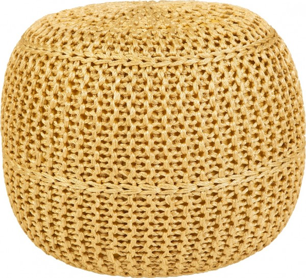 Outdoor Sitzkissen / Hocker Obsession Pouf Exo 444 lemon / gelb