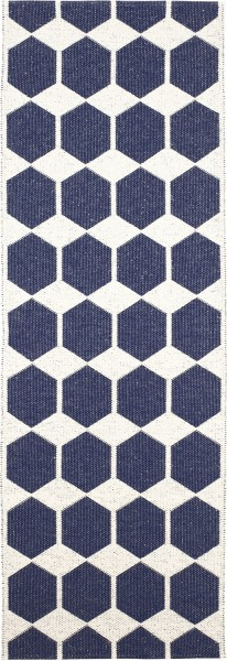Indoor / Outdoor Teppich Brita Sweden Anna denim / blau (Läufer)