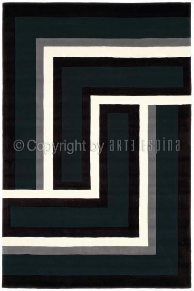 Kurzflor Designer Teppich Arte Espina Joy 4071-68 anthrazit