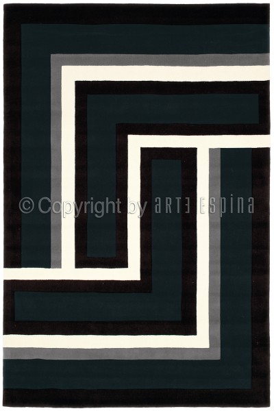 Teppich Arte Espina Joy 4071-68 anthrazit 70 x 140 cm