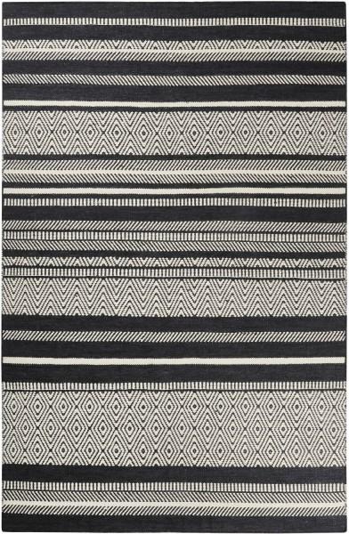 Teppich Esprit Hudson Kelim ESP-6113-01 grau schwarz