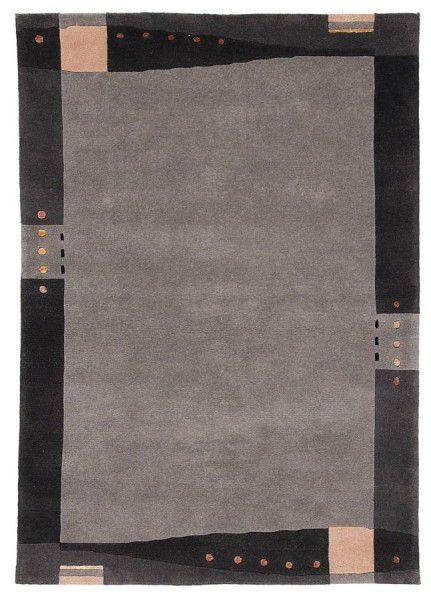Teppich Wissenbach Manali 185 anthrazit 120 x 180 cm